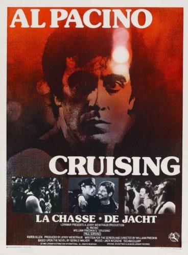 Poster for Cruising (1980) starring Al Pacino