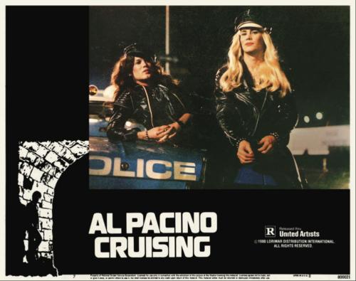 Crusing (1980) lobby card  featuring Robert Pope and Gene Davis