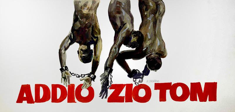 Addio Zio Tom key art by Renato Casaro