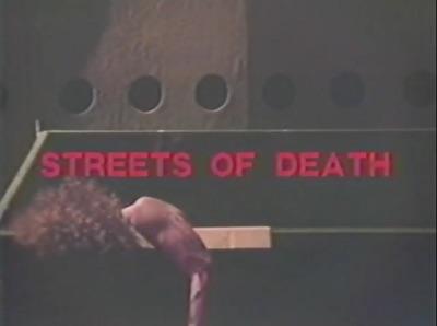 Streets of Death title screencap