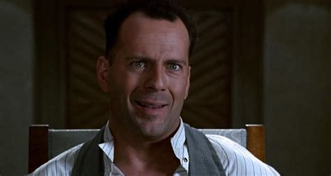 Bruce Willis mugging in Hudson Hawk (1991)