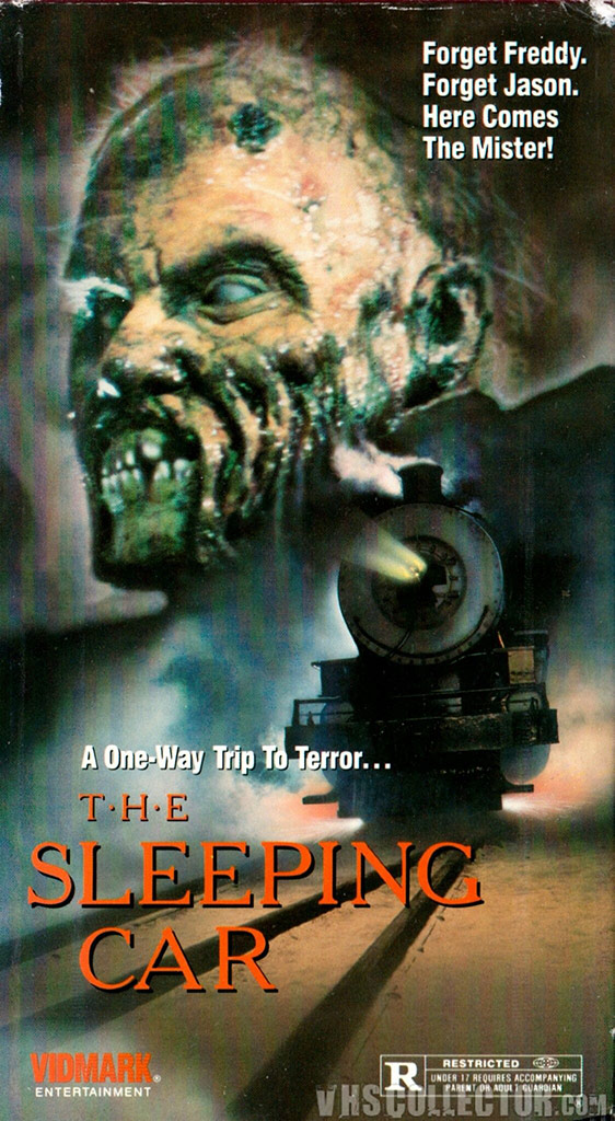 VHS cover for The Sleeping Car (1990)