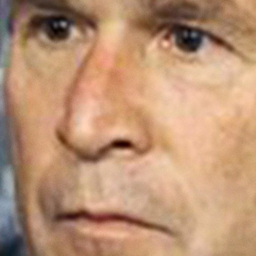 George W. Bush's dumb fuckin face
